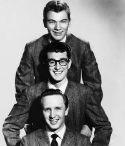 Buddy Holly and the Crickets (Jerry Allison & Joe B. Mauldin)circa 1950s** I.V.M. - Image 5875_0006