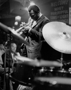 Miles Davisperforming at Shelly Manne