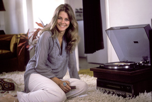 Lindsay Wagner at home1976 © 1978 Bregman - Image 5887_0006