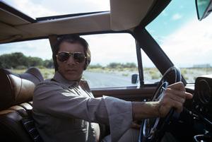 Paul Anka drivingcirca 1973© 1978 Gunther - Image 5894_0015
