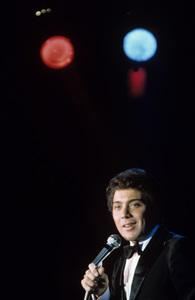 Paul Anka performing at a club1967 © 1978 George E. Joseph - Image 5894_0024