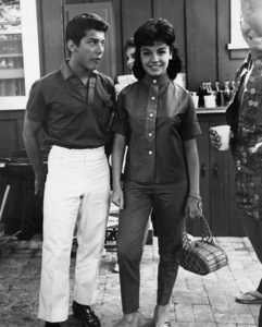 Paul Anka and Annette Funicello at a pool partycirca 1960sPhoto by Joe Shere - Image 5894_0051