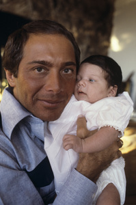Paul Anka and his daughter1973© 1978 Gunther - Image 5894_0052