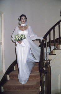 Lynda Carter on her wedding day to Ron Samuels1977 © 1978 Gene Trindl - Image 5896_0031