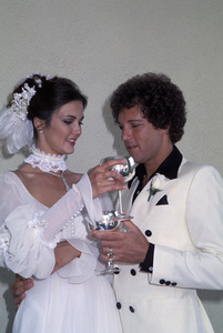 Lynda Carter at her wedding to Ron Samuels1977 © 1978 Gene Trindl - Image 5896_0034
