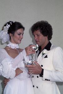 Lynda Carter at her wedding to Ron Samuels1977 © 1978 Gene Trindl - Image 5896_0034
