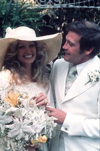 Farrah Fawcett and Lee Majors on their wedding dayJuly, 28, 1973 © 1978 Bruce McBroom - Image 5928_0016