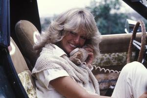 "Farrah Fawcett in her ""Foxy Vette""circa 1976 © 1978 Gunther - Image 5928_0029"