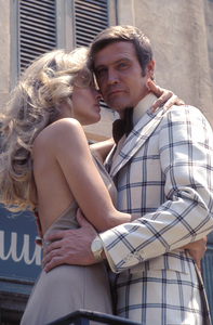 Farrah Fawcett with husband Lee MajorsC. 1973 © 1978 Bruce McBroom - Image 5928_0174