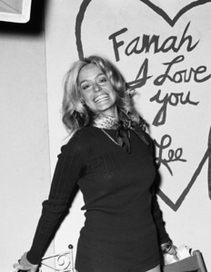 Farrah Fawcett at her birthday party02-02-1971 © 1978 Roy Cummings - Image 5928_0226