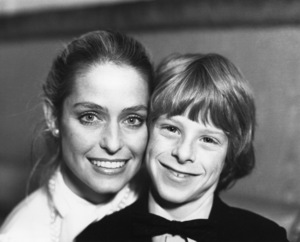 Farrah Fawcett and son Redmond O
