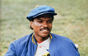"""Billy Dee Williams on the set of """"The Bingo Long Traveling All-Stars & Motor Kings""""1976 Universal** B.D.M. - Image 5936_0018"""