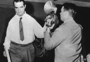 Howard Hughes Leaving a Los Angeles court house11/26/52MPTV - Image 5944_0010