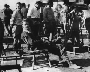 Howard Hughes on film setlate 1930