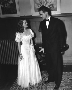 Howard Hughes with Bette Davis early 1940