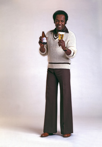 Lou Rawls in an Anheuser Busch Ad1979 © 1979 Sid Avery - Image 5952_0028