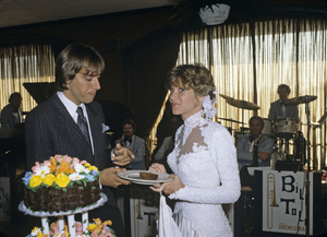Gabriel Ferrer and Debby Boone on their wedding day1979© 1979 Gene Trindl - Image 5953_0007