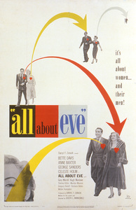 """""""All About Eve""""Poster1950 20th Century Fox**I.V. - Image 5956_0016"""
