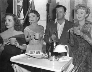 """All About Eve""Bette Davis, Anne Baxter, Joseph Mankiewicz, Celeste Holm1950 20th Century Fox** I.V - Image 5956_0017"
