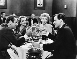 """All About Eve""Gary Merrill, Bette Davis, Celeste Holm, Hugh Marlowe1950 20th Century Fox** I.V. - Image 5956_0023"