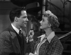 """All About Eve""Hugh Marlowe, Celeste Holm1950 20th Century Fox** I.V. - Image 5956_0060"