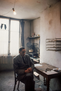 William S. Burroughs in his Paris apartment1962© 1978 Bob Willoughby - Image 5969_0102