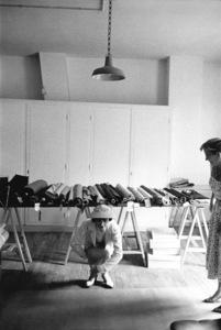Coco Chanel in her Paris studio 1957 © 2000 Mark Shaw - Image 5970_0002