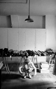 Coco Chanel in her Paris studio 1956 © 2001 Mark Shaw - Image 5970_0026