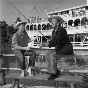 Walt Disney at DisneylandApril 25, 1958© 1978 Sid Avery - Image 5975_0040