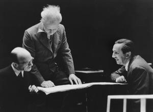 "Walt Disney with Composer Leopold Stowkowski""Fantasia""RKO 1940**I.V. - Image 5975_0058"