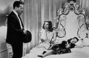 """""""The Big Sleep""""Humphrey Bogart, Lauren Bacall, and Martha Vickers1946 Warner Bros.MPTV - Image 5982_0008"""