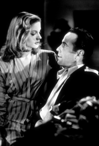 """""""To Have and Have Not""""Lauren Bacall and Humphrey Bogart1945 Warner Bros.Photo by Mac JulianMPTV - Image 5983_0001A"""
