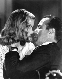 """To Have and Have Not""Lauren Bacall, Humphrey Bogart1945 WarnerPhoto by Mac Julian - Image 5983_0012"
