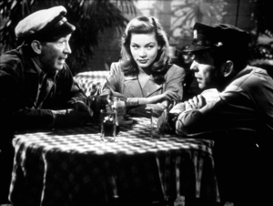 """""""To Have and Have Not""""Walter Brennan, Lauren Bacall, and Humphrey Bogart1945 Warner Bros.Photo by Mac JulianMPTV - Image 5983_0021"""