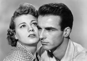 """""""A Place in the Sun""""Shelley Winters, Montgomery Clift1951 Paramount Pictures** I.V. - Image 5984_0009"""