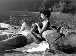 """Place In The Sun, A""Elizabeth Taylor, Montgomery Clift1951 Paramount / **I.V. - Image 5984_0012"