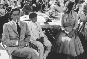 """Godfather II""Al Pacino, James Gounaris, Diane Keaton © 1974 ParamountPhoto by Bruce McBroom - Image 5993_0007"