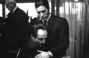 """The Godfather: Part II""Al Pacino, John Cazale1974 ParamountPhoto by Bruce McBroom - Image 5993_0011"