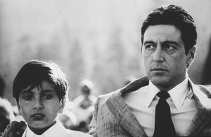 """Godfather II""Al Pacino, James Gounaris © 1974 ParamountPhoto by Bruce McBroom - Image 5993_0039"