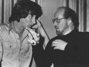 """""""Close Encounters of the Third Kind""""Steven Spielberg and composer John Williams1977 Columbia**I.V. - Image 6001_0018"""