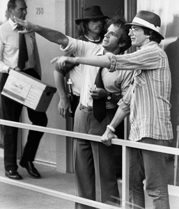 """""""Close Encounters of the Third Kind""""Steven Spielberg and Francois Truffaut1977 Columbia**I.V. - Image 6001_0020"""