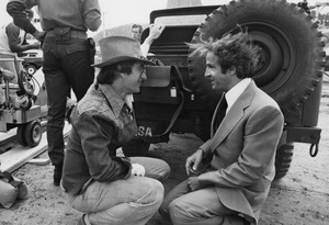 """Close Encounters of the Third Kind""Steven Spielberg and Francois Truffaut1977 Columbia**I.V. - Image 6001_0021"