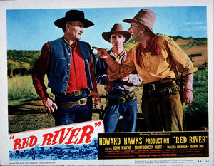 """""""Red River,"""" United Artists 1948.Lobby card - Image 6004_0004"""