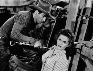 """Red River,"" United Artists 1948.Montgomery Clift and Joanne Dru. - Image 6004_0006"