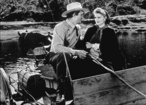 """""""Stagecoach""""John Wayne and Claire Trevor. © 1939 United Artists /Photo by Ned Scott - Image 6015_0112"""