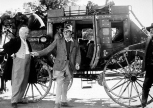 """Stagecoach,""John Ford, Berton Churchill (L)1939/UAMPTV/ © 1978 Ned Scott Archive - Image 6015_0154"
