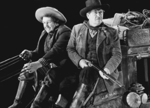 """""""Stagecoach""""Andy Devine, George Bancroft1939/UAMPTV/ © 1978 Ned Scott Archive - Image 6015_0168"""