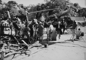 """""""Stagecoach""""Cast and crew at work1939/UAMPTv/ © 1978 Ned Scott Archive - Image 6015_0179"""