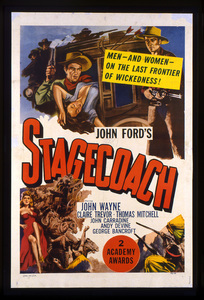"""""""Stagecoach""""Poster1939 Walter Wagner Productions**I.V. - Image 6015_0209"""