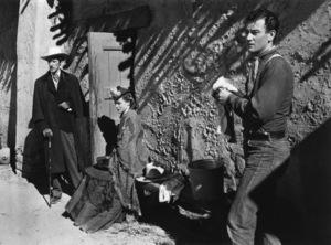 """Stagecoach""John Carradine, Claire Trevor, John Wayne1939© 1978 Ned Scott Archive - Image 6015_0245"
